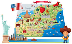 northeastern cus map map of northeastern stock photos freeimages com