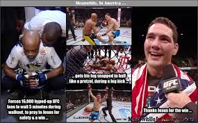 Anderson Silva Meme - with jesus as your friend who needs enemies meanwhile in america