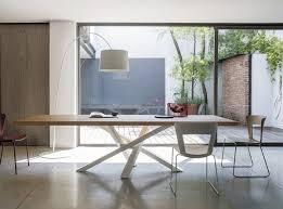 sala da pranzo moderna tavoli da sala da pranzo moderni tavolo allungabile in cristallo