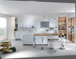 cuisine blanc et charming cuisine blanche et noyer 2 faure agencement perene