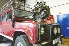 lexus v8 in defender the best ever defender engines auto express