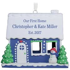 our new home personalized ornament personalized ornaments hallmark