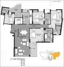 Harmony Floor by Floor Plan Of Unitech Harmony Gurgaon Apartments In Unitech