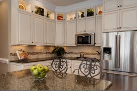 white glazed kitchen cabinets 12 most white cabinets with brown granite you must