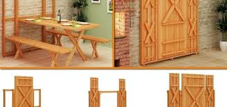 Diy Folding Wooden Picnic Table by Fold Up Picnic Table And Bench Archives Find Fun Art Projects To