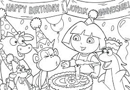 happy birthday coloring card coloring pages for toddlers shapes happy birthday page pdf