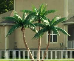 artificial palm trees outdoor outdoor designs