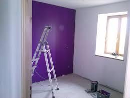 peinture chambre violet cuisine peinture de la chambre murs violet prune et murs en