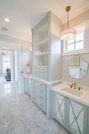 16 blue bathroom mirror blue and tan kids bathroom cottage