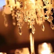 Wedding Chandelier Centerpieces Crystal Decorations Ebay