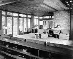 warm home interiors home design warm frank lloyd wright interiors with sofa table and