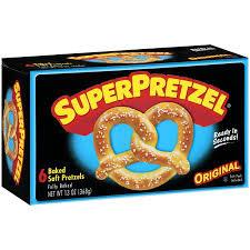 pretzel delivery superpretzel soft pretzels 6 count sheri s store to door