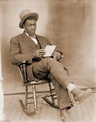Old Man In Rocking Chair Pictures Of Everyday Life Of African Americans In Nebraska Daily