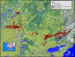 Southwest Route Map New Study Shows High Salmon Use In Wolf Diets In Southwest Alaska
