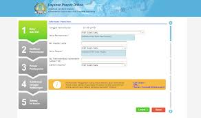 buat paspor online bayi gaya ransel cara membuat paspor anak secara online