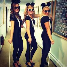 Cute Homemade Halloween Costumes Girls 25 Blind Mice Costume Ideas Blind