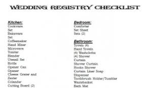 wedding registry list wedding registry checklist wedding registry checklist printable