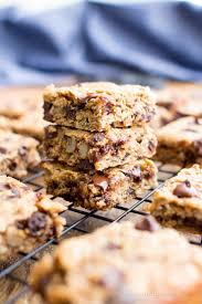 Breakfast Bar Gluten Free Banana Chocolate Chip Oatmeal Breakfast Bars Vegan