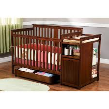 Delta Crib And Changing Table Delta Dakota Crib And Changer Cider Walmart
