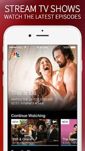 the nbc app u2013 stream tv shows on the app store
