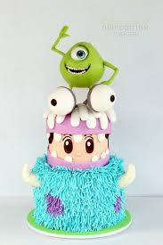 204 best disney u0027s monsters inc monsters u cakes images on
