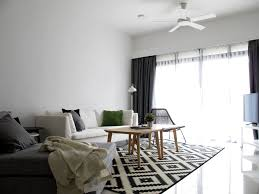 contemporary minimalist styled condominium home created with home