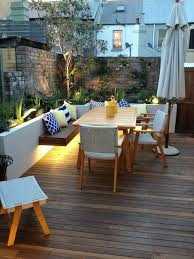 Vista Landscape Lighting by Vista Landscape Lighting Deck Contemporary With Bench Seating Blue