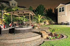 Patios Design Sunken Or Raised Patios Hardscape Gallery Western Outdoor Design