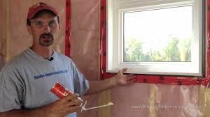 How To Insulate Your Basement by How To Insulate A Window Or Door Youtube