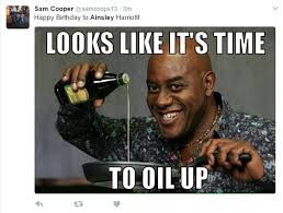 Ainsley Harriott Meme - twitter goes wild as ainsley harriott turns 60 on lorraine daily