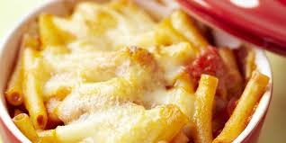 comment cuisiner la mozzarella gratin de pâtes à la mozzarella parmesan et dés de tomates