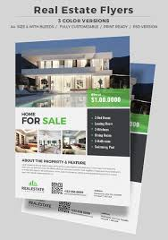 Real Estate Poster Template by 40 Professional Real Estate Flyer Templates