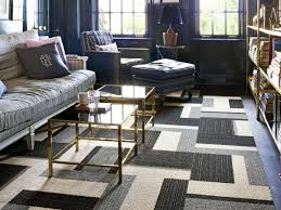 modern minimalist living room carpet design