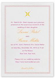 Wedding Invitations India Indian Wedding Invitation Wording Template Shaadi Bazaar