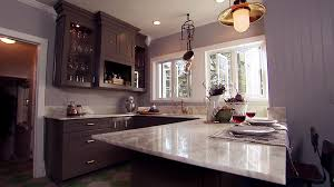 gray kitchen cabinets wall color modern gray kitchen design video hgtv