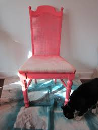 remodelaholic cane back dining chair makeover