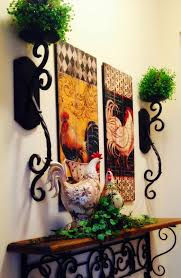Kitchen Nuance Interior Country Rooster Kitchen Decor Inside Awesome Rooster