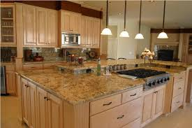 kitchen island with cooktop and seating large island with cooktop and seating with split level counter