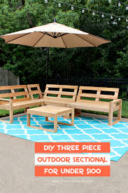 Outdoor Wood Sectional Furniture Plans by Diy Outdoor Sectional For Under 100 Cedar Fence Pickets