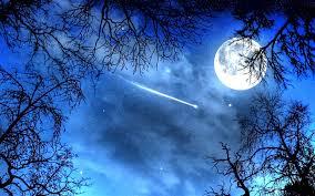 moon and stars night wallpaper hd download for desktop