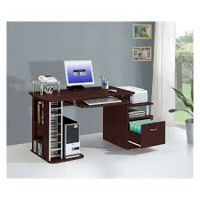 Computer Station Desk by Techni Mobili Complete Computer Workstation With Cabinet And