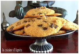 levure cuisine cookies choco noix sans levure chimique la cuisine d agnèsla