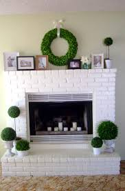 home design white brick fireplace ideas kitchen building