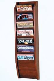 wooden wall hanging wood wall magazine rack foter