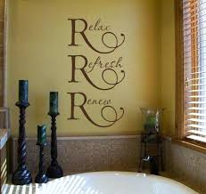 wall decor ideas for bathrooms how to decorate bathroom walls words about bathroom wall decor