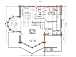 log home open floor plans colorado log home plan by lodge logs