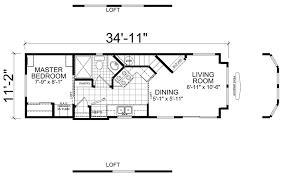 Park Model Homes Floor Plans Dakota 11 X 35 Park Model Rv Floor Plan Factory Expo Park Models