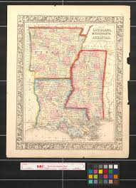 Map Of Louisiana by Map Of Louisiana Mississippi And Arkansas The Portal To Texas