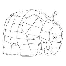 the elephant coloring pages