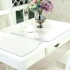 clear table top protector table top protector clear table protector cover dining table cover